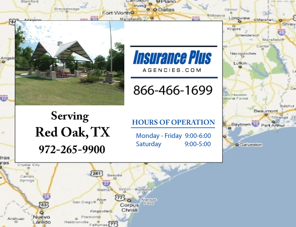 Insurance Plus Agencies of Texas (972)265-9900 is your Event Liability Insurance Agent in Red Oak, Texas.
