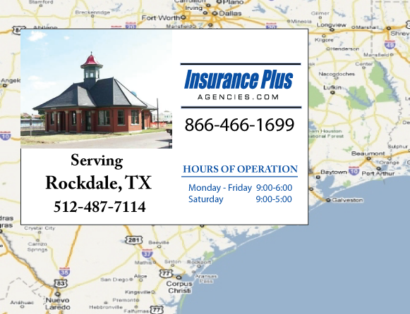 Insurance Plus Agencies of Texas (512)487-7114 is your Event Liability Insurance Agent in Rockdale, Texas.