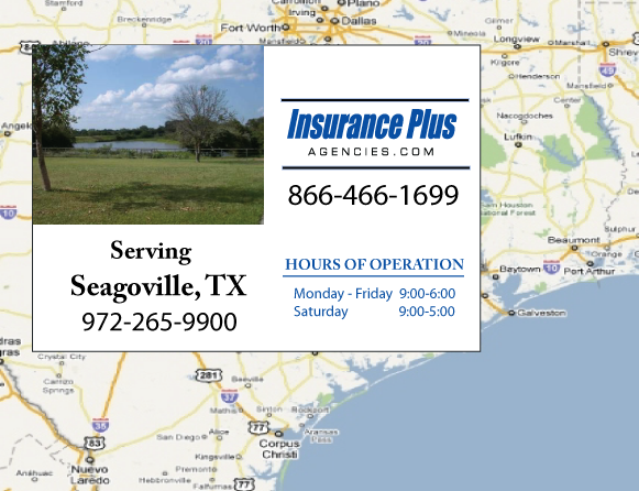Insurance Plus Agencies of Texas (972)265-9900 is your Event Liability Insurance Agent in Seagoville, Texas.