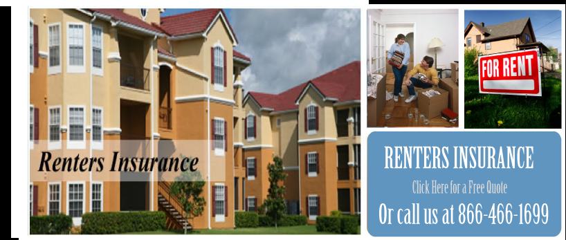 Renters Insurance Information