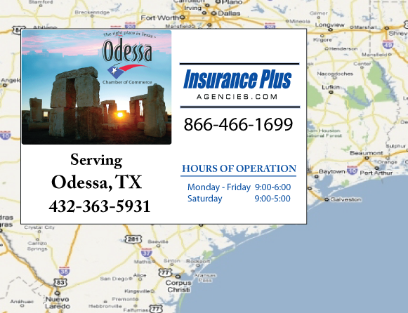 Insurance Plus Agencies of Texas (432)363-5931 is your Salvage Or Rebuilt Title Insurance Agent in Odessa, Texas.