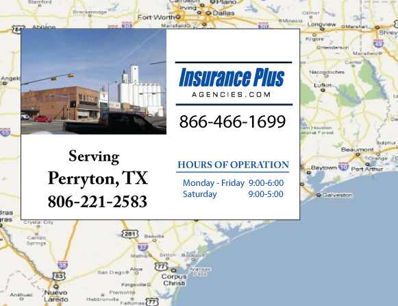 Insurance Plus Agencies of Texas (806)221-2583 is your Commercial Liability Insurance Agency serving Perryton, Texas.
