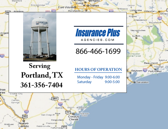 Insurance Plus Agencies of Texas (361)356-7404 is your Event Liability Insurance Agent in Portland, Texas.