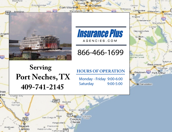 Insurance Plus Agencies of Texas (409)741-2145 is your Event Liability Insurance Agent in Port Neches, Texas.