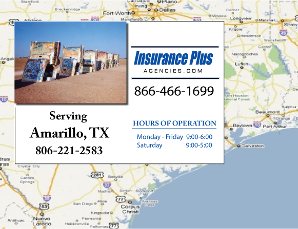 Insurance Plus Agencies of Texas (806)221-2583 is your Commercial Liability Insurance Agency serving Amarillo, Texas.