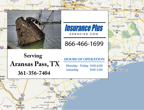 Insurance Plus Agencies of Texas (361)356-7404 is your Commercial Liability Insurance Agency serving Aransas Pass, Texas.