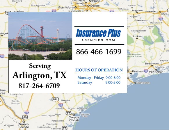 Insurance Plus Agencies of Texas (817)264-6709 is your Commercial Liability Insurance Agency serving Arlington, Texas.