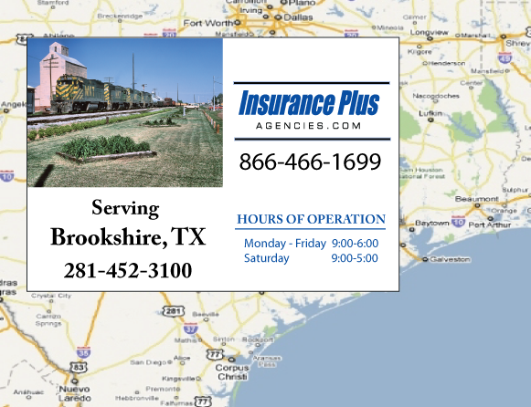 Insurance Plus Agencies of Texas (979)532-0207 is your Event Liability Insurance Agent in Brookshire, Texas.
