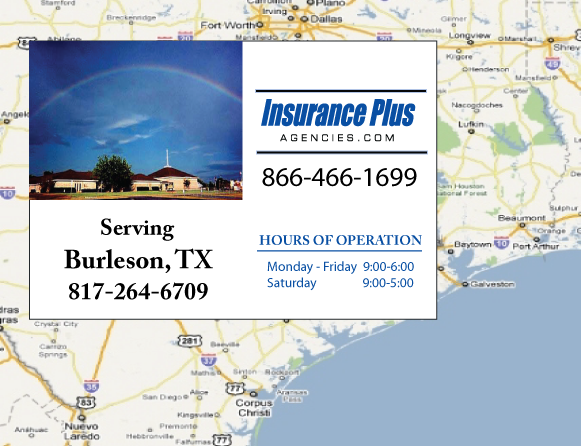 Insurance Plus Agencies of Texas (817)264-6709 is your Event Liability Insurance Agent in Burleson, Texas.