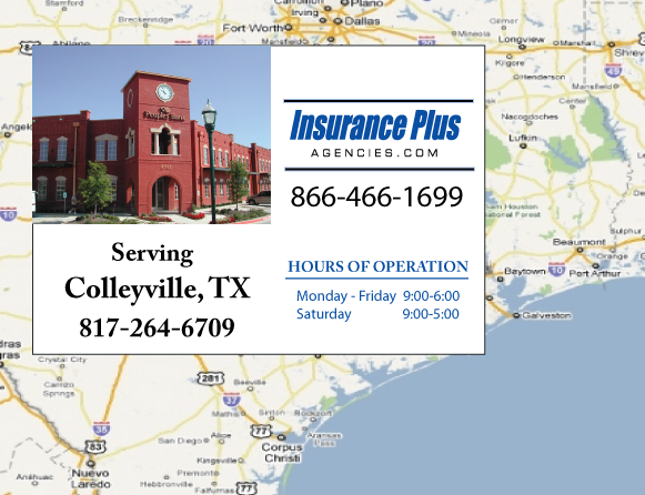 Insurance Plus Agencies of Texas (817)264-6709 is your Event Liability Insurance Agent in Colleyville, Texas.