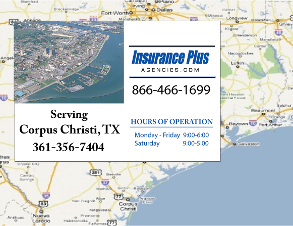Insurance Plus Agencies of Texas (361)356-7404 is your Commercial Liability Insurance Agency serving Corpus Christi, Texas.