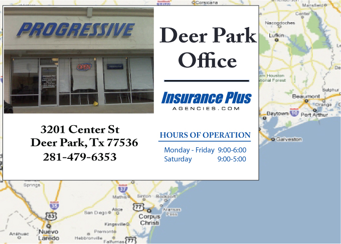 Progressive Near Me >> Progressive Insurance Agency Deer Park Texas Office Location