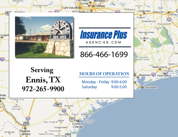 Insurance Plus Agencies of Texas (972)265-9900 is your Event Liability Insurance Agent in Ennis, Texas.