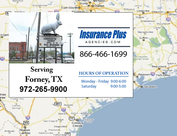 Insurance Plus Agencies of Texas (972)265-9900 is your Commercial Liability Insurance Agency serving Forney, Texas.