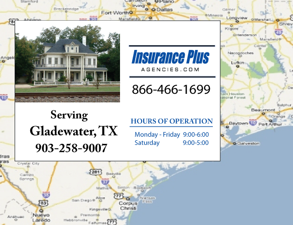 Insurance Plus Agencies of Texas (903)258-9007 is your Commercial Liability Insurance Agency serving Gladewater, Texas.