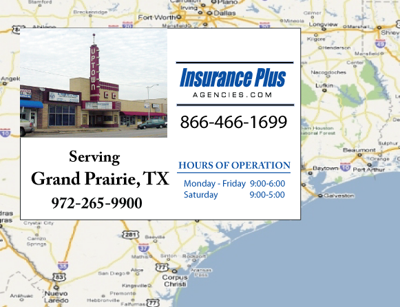 Insurance Plus Agencies of Texas (972)265-9900 is your Commercial Liability Insurance Agency serving Grand Prairie, Texas.