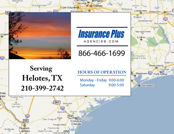 Insurance Plus Agencies of Texas (210)399-2742 is your Event Liability Insurance Agent in Helotes, Texas.