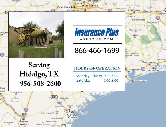 Insurance Plus Agencies of Texas (956)508-2600 is your Event Liability Insurance Agent in Hidalgo, Texas.
