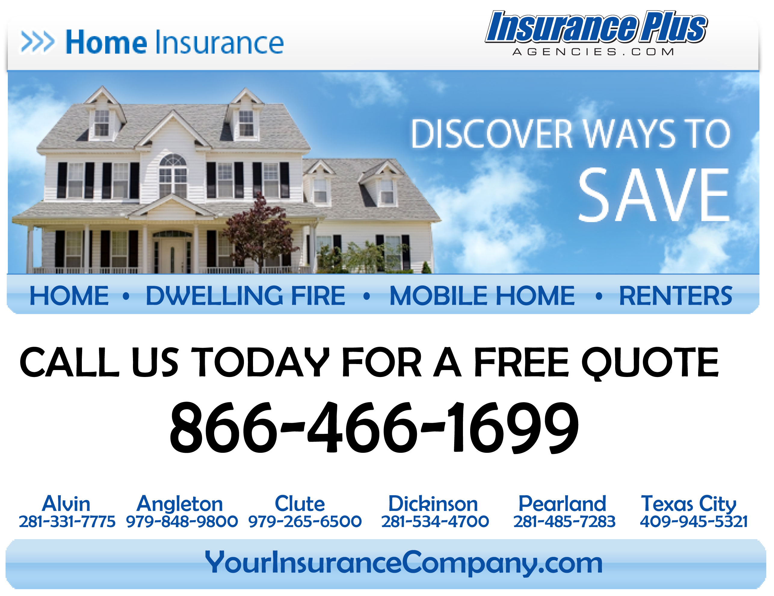 Texas Home Insurance from Insurance Plus Agencies
