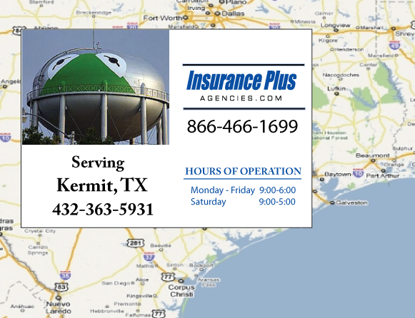 Insurance Plus Agencies of Texas (432)363-5931 is your Commercial Liability Insurance Agency serving Kermit, Texas.