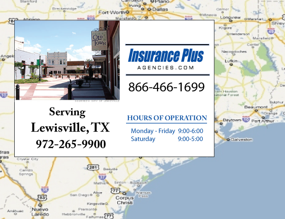 Insurance Plus Agencies of Texas (972)265-9900 is your Commercial Liability Insurance Agency serving Lewisville, Texas.