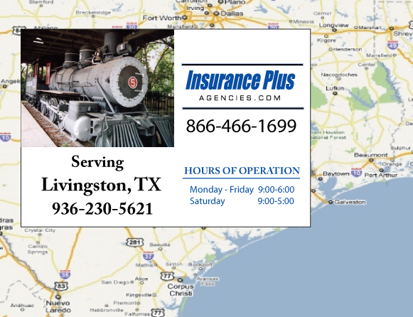Insurance Plus Agencies of Texas (936)230-5621 is your Event Liability Insurance Agent in Livingston, Texas.