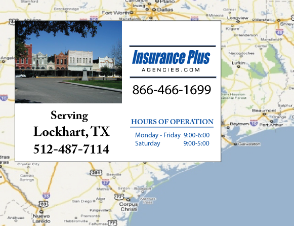 Insurance Plus Agencies of Texas (512)487-7114 is your Event Liability Insurance Agent in Lockhart, Texas.
