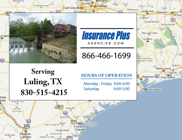 Insurance Plus Agencies of Texas (830)515-4215 is your Event Liability Insurance Agent in Luling, Texas.