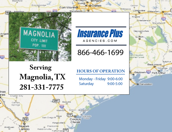 Insurance Plus Agencies of Texas (281)331-7775 is your Mexico Auto Insurance Agent in Magnolia, Texas.