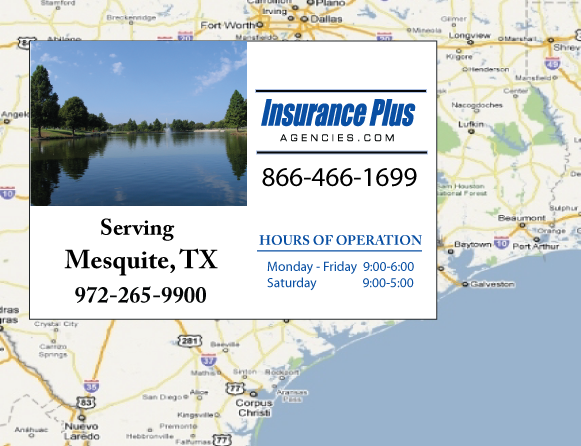 Insurance Plus Agencies of Texas (972)265-9900 is your Commercial Liability Insurance Agency serving Mesquite, Texas.