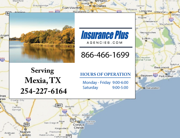 Insurance Plus Agencies of Texas (254)227-6164 is your Event Liability Insurance Agent in Mexia, Texas.