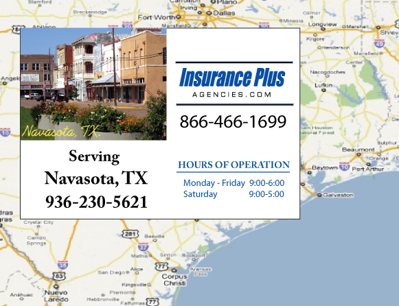 Insurance Plus Agencies of Texas (936)230-5621 is your Event Liability Insurance Agent in Navasota, Texas.