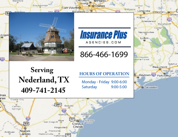 Insurance Plus Agencies of Texas (409)741-2145 is your Event Liability Insurance Agent in Nederland, Texas.