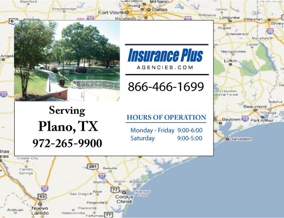 Insurance Plus Agencies (972)265-9900 is your local Progressive Boat agent in Plano, TX.